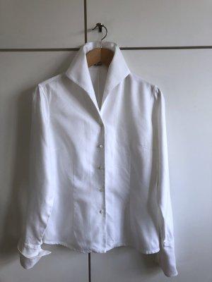 Edle weiße Bluse von van Laack