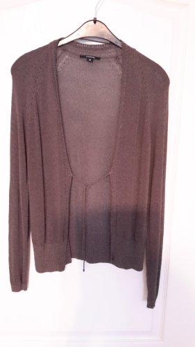 Comma Knitted Vest silver-colored-dark grey viscose