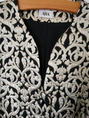 ara Tweed Blazer black-gold-colored