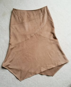 H&M Flared Skirt multicolored imitation leather