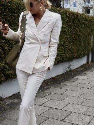 Business Suit cream cotton