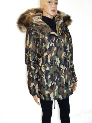 Edler Camouflage Winter PARKA Marikoo Neu Gr.XS/S