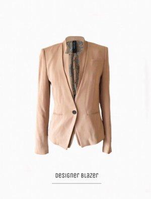 Edler & Eleganter Blazer in puderton nude extravagant & fancy Designer (NP: 379€) | Marc Cain | 38-40