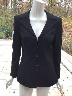 Escada Wool Blazer black wool