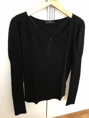 Birger et Mikkelsen Gebreide trui zwart