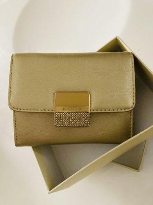 Edler Geldbeutel mit Strass Gold glänzendes Design