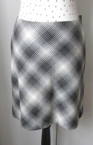 H&M Wollen rok zwart-wit