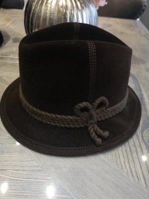 MAYSER Wollen hoed bruin