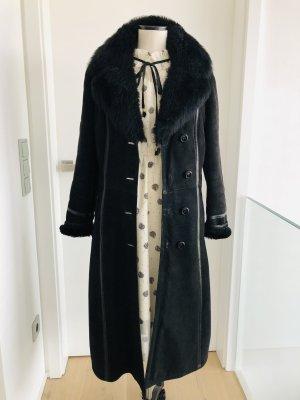 True Vintage Manteau d'hiver noir