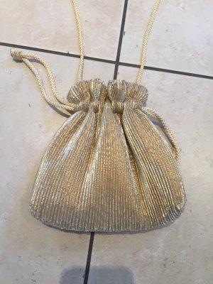Edler Laura Ashley Beutel/Abendtasche - gold metallic