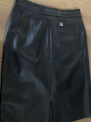 Windsor Leather Skirt black leather