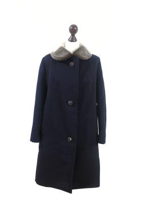 Edler luxus Vintage Mantel Gr. L reine Schurwolle First Class