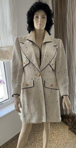 Edler Mantel Bouclé-Tweed Chanel Stil Gr. 36/38
