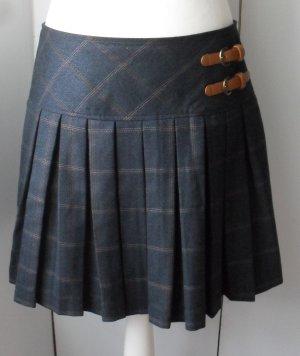 Orsay Plisowana spódnica antracyt Poliester