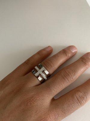 Bijou Brigitte Srebrny pierścionek srebrny
