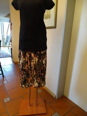 Liu jo Plisowana spódnica Wielokolorowy Tkanina z mieszanych włókien