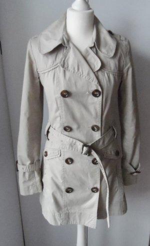 edler s.Oliver Trenchcoat Gr. 34 beige nur wenig getragen