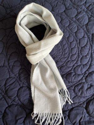 Sciarpa in cashmere blu pallido