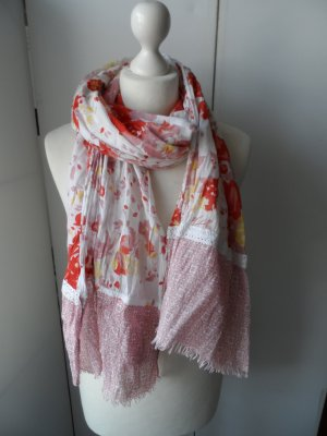 Pashmina multicolored cotton