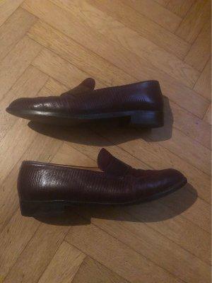 Edler Schuh -Echt Leder