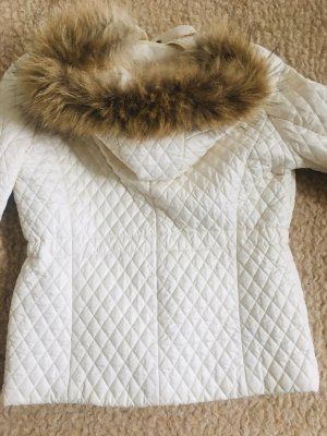 Xenia Quilted Jacket cream-natural white