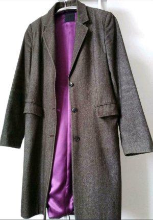 Dept Between-Seasons-Coat dark brown