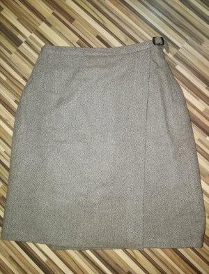 bscs europe Falda cruzada marrón claro-beige