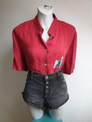 Edles 80s / 90s Vintage Oversize Hemd mit geometrischem Muster