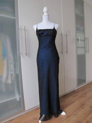 3 Suisses Vestido de noche azul oscuro Poliéster