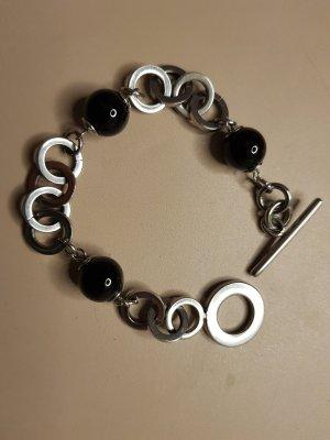 Edles Armband , schwarze perlen