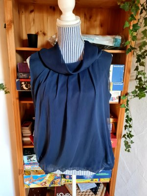 Best Connections Blouse topje donkerblauw