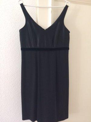 Edles Cocktail Kleid Kleines Schwarzes schwarz Laura Ashley Gr. 38; wie NEU