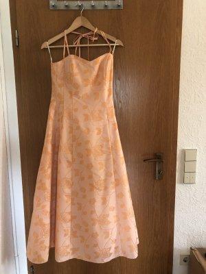 Joy Evening Dress apricot polyester