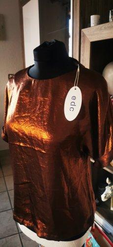 Esprit Silk Top bronze-colored-brown