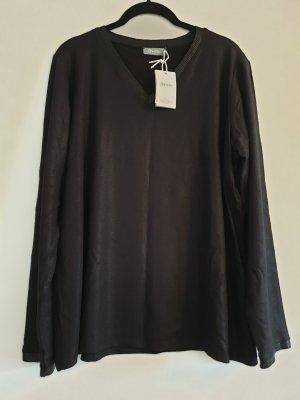 Geisha V-Neck Shirt black