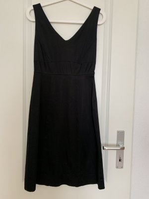 Hallhuber Vestido línea A negro