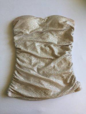 Tally Weijl Top a fascia oro-argento