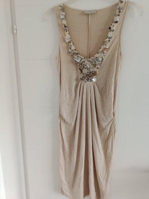 edles kleid, 92% Viskose, von Roberta Scarpa, Gr. 38, mit Perlen