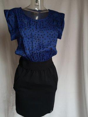 edles Kleid Materialmix/mit Taschen Neuwertig!