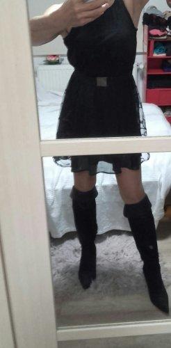 Sublevel Sukienka z halką czarny