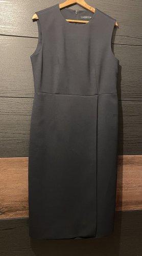 COS Midi-jurk donkerblauw