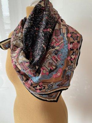 Pancaldi Foulard en soie multicolore soie