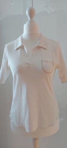 munich freedom Polo Shirt white-light brown