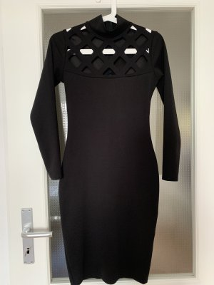 Missguided Vestido cut out negro