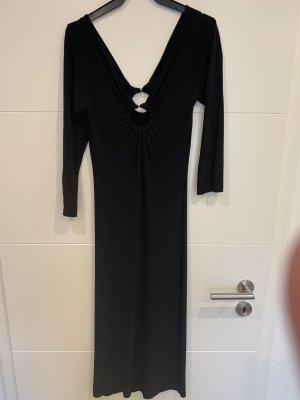 Edles schwarzes Kleid Größe l