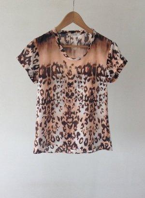 Rich & Royal Zijden blouse veelkleurig Zijde