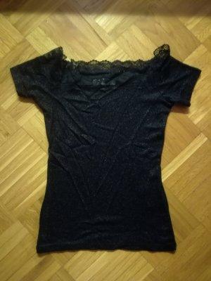 Morgan de Toi Camisa tipo Carmen negro Viscosa