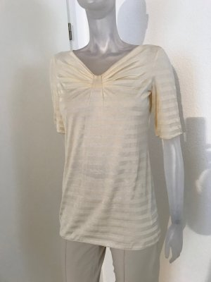 Armani Collezioni T-shirt crème coton