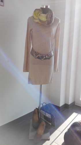 Kontatto Robe en maille tricotées beige