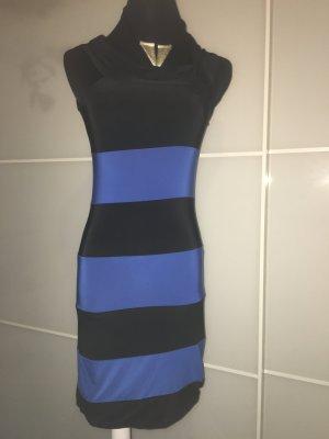 Edles ,Tolles Minikleid, sehr elastisch, Größe S in schwarz/ blau, letzte Reduzierung